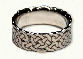 wide wedding bands celtic knot wedding rings by designet best prices