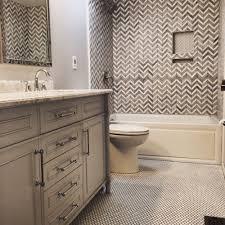 chevron shower tile double vanity penny tile floor yelp