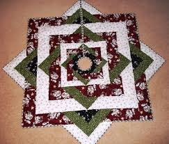 christmas tree skirt quilt pattern quilted tree skirt etsy quilt
