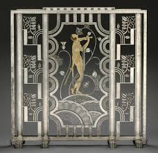 wrought iron room divider muse with violin screen 1930 objects collection of cooper