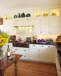 Kitchen Cabinet Height 8 Foot Ceiling by Glass Top Gas Kitchen Traditional With White Cabinets Kitchen