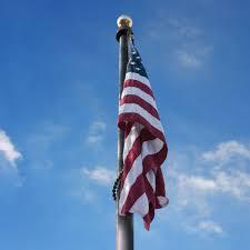 Flag Pole Express 60 U0027 Aluminum Flagpole Flag Raisers Us Flag And Flagple Store