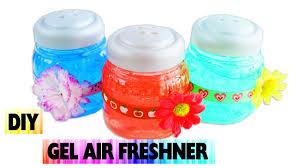 diy gel air freshener easy arts and crafts no cook