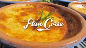 cuisine corse recettes recette du flan corse