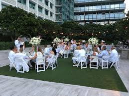Miami Bistro Chair Reinberg Johnson Wedding Event Production Lighting The