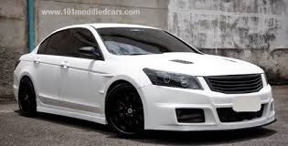 honda accord modified modified honda accord white modfocars custom and modified cars