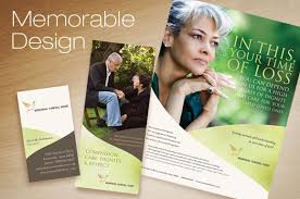 funeral booklet templates create inspirational materials for funeral and memorial services