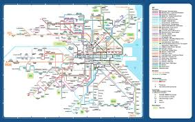 Map Houston Airport Dublin Bus Stops Map Dublin Bus Route Map Ireland