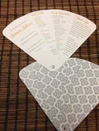 Wedding Program Hand Fans Easy Diy Wedding Programs Tutorial Program Fans Wedding
