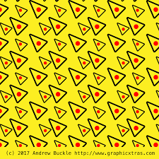 Yellow Swatches Triangle Pattern Swatches For Illustrator Cc Cs6 Cs5 Inc Angled