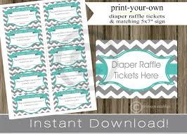 gift finding nemo baby shower baby shower diaper raffle tickets
