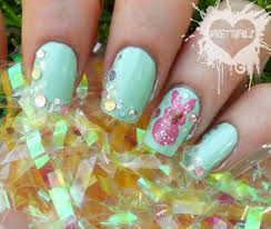 robin moses nail art spring flowers spring nail art easter little