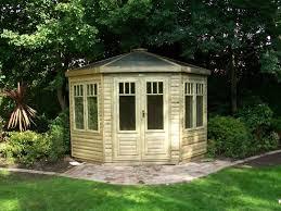 Summer House In Garden - corner summer houses and corner garden buildings view online today