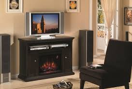 black electric fireplace entertainment center electric fireplace