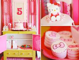 hello kitty themed birthday party via kara u0027s party ideas