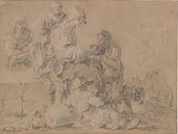 poussin claude and french drawing in the classical age the