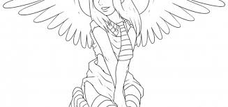 angel color pages nice coloring pages wallpaper part 2