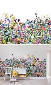may meadow nursery wallpaper wall murals and kids s