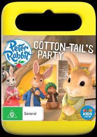 rabbit dvds rabbit cotton tails party dvd by readings au