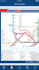istanbul metro map istanbul offline map city metro airport and travel plan on the
