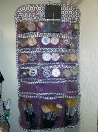 how i organize my bare minerals makeup jewelry organizers from