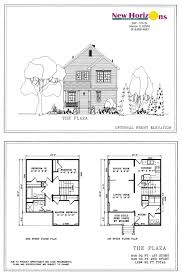44 simple two storey house floor plan simple small house