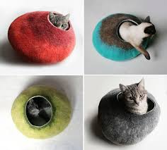 11 cat caves that prove cat beds can be stylish contemporist