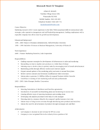 Resume Template Word Free Download Resume Template Free 6 Microsoft Word Doc Professional Job And