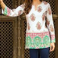 women u0027s indian paisley tunics tops at novica