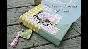 Buy Photo Album Fabric Covered Mini Album Candy Retro From Michaels Buy Paper