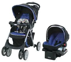 Baby Stroller Canopy by Graco Literider Click Connect Travel System Car Seat And
