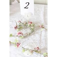 Wedding Table Number Holders Chic Vintage Style Heart Wedding Table Number Holder Tall