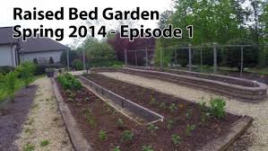 fall raised bed gardening soil mix creating a raised bed garden