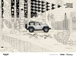 cartoon jeep side view jeep ads of the world