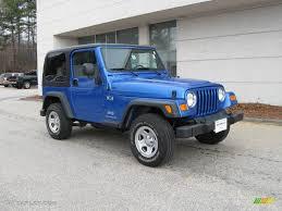 jeep 2003 2003 intense blue pearl jeep wrangler x 4x4 6911656 gtcarlot