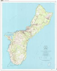Topographic Map Seattle by Topographic Map Of Guam Wall Map Of Guam