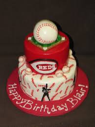 cincinnati reds birthday cake cakecentral com
