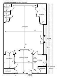 recording studio floor plan studio specs