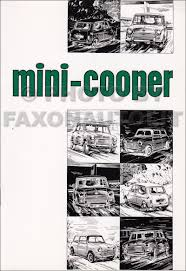 1959 1976 mini cooper repair shop manual reprint