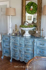 a blue french provincial dresser edith u0026 evelyn vintage