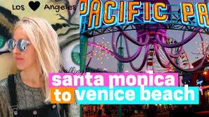 santa monica u0026 venice beach los angeles adventures youtube