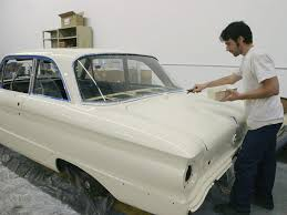 a 1962 ford falcon recieve a budget paint job rod network