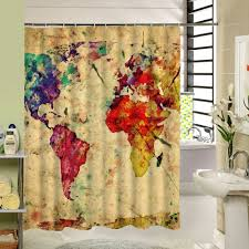 Amazon World Map by Area Rugs Outstanding World Map Shower Curtain World Map Shower