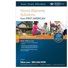 first american home buyers protection plan home warranty plans for california