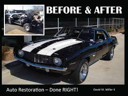 New Muscle Cars - book brand new muscle car before u0026 after auto restoration done
