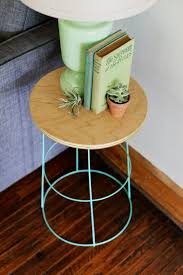 Diy Side Table Diy Tomato Cage Side Table Tomato Cage Diy Furniture And Craft
