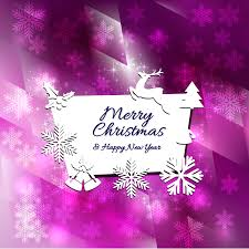 merry and happy new year card template 123freevectors