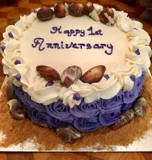 Chocolate Swirl Cake Decoration Happy Anniversary Cakecentral Com