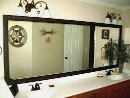 Framing Existing Bathroom Mirrors Mirrors Powder Springs Frame Existing Bathroom Mirrors