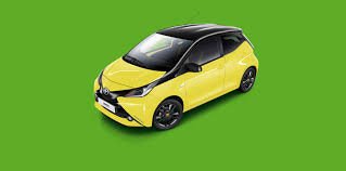 yellow toyota toyota does its best to x cite italy with aygo yellow edition